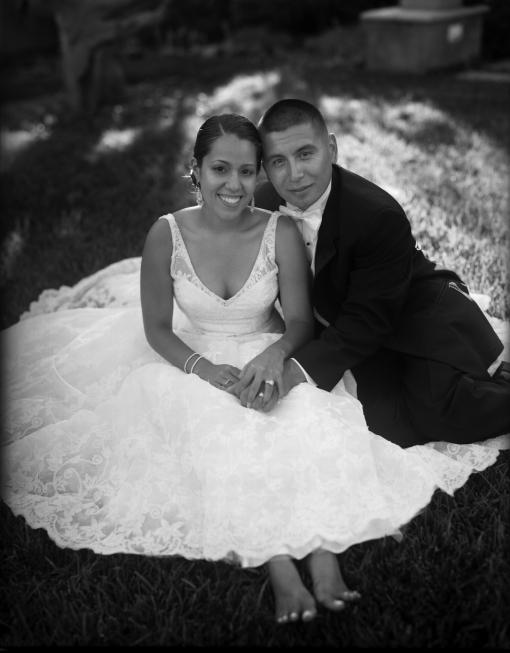 Marina Wedding Bride and Groom