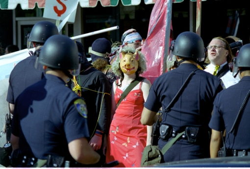 Beverly Hills demonstrator