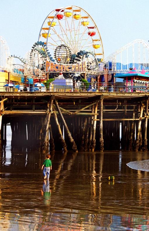 Santa Monica sun Feature Story Pacific Park on  the Santa Monica Pier